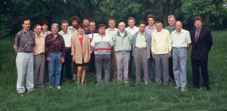 Die Gründungsmitglieder des Vereins