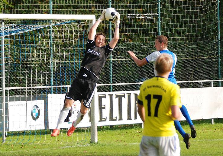 Rick Hofkamp im Einsatz für den VfL (hier im damaligen Landesliga-Spiel bei Holthausen-Biene)