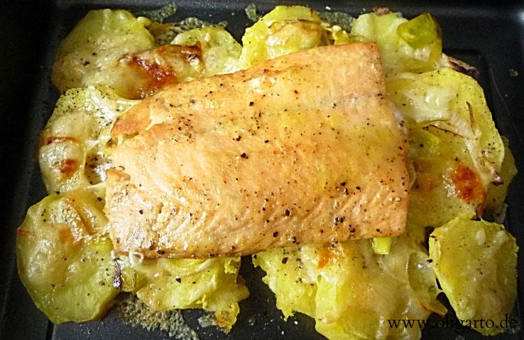 Lachs Rezepte Fisch Kochen Olivenöl Oligarto Blogzine