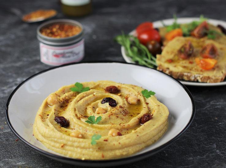 Hummus mit Cranberry Asia Dust Rezepte Oligarto Blogzine