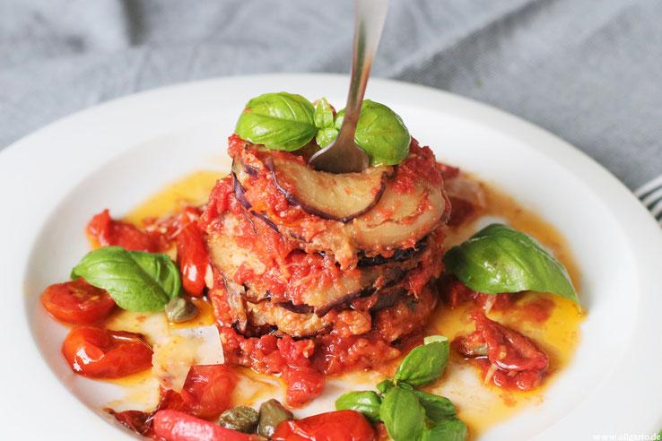 REzepte Kochen Italienisch Parmigiana Oligarto Blogzine