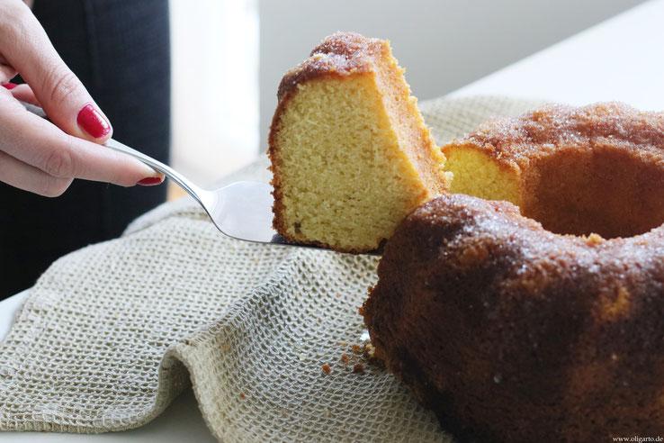 Lemon Bund Cake Recipe Baking wit oliveoil Oligarto Blogzine