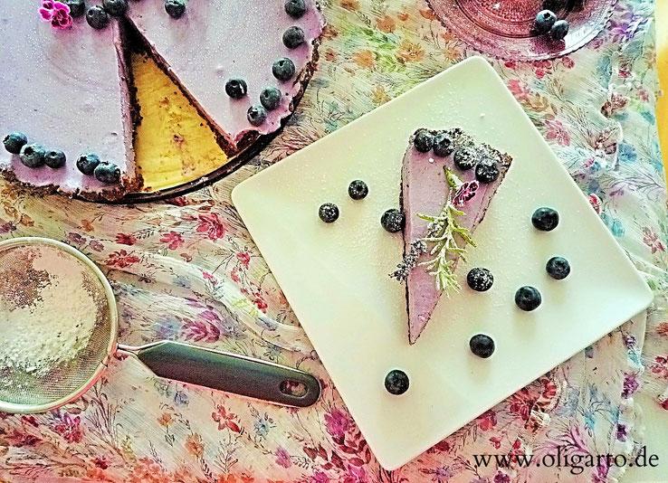Tarte Rezepte Blaubeeren Mascarpone Lavendelöl Oligarto Blogzine