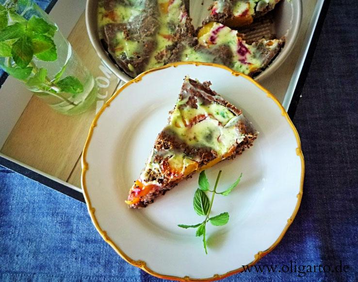 Mohnkuchen Backen mit Olivenöl Oligarto Blogzine