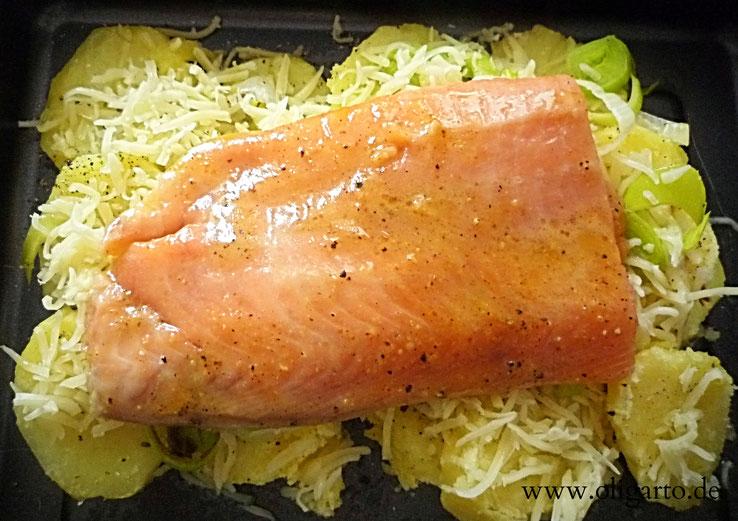 Lachs Rezepte Kochen mit Olivenöl Oligarto Blogzine