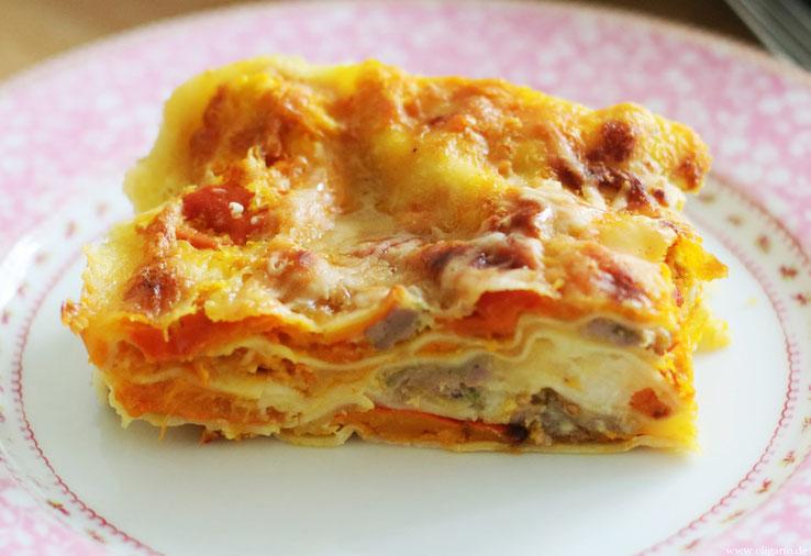 Lasagne mit Salsiccia und Kürbis Rezepte Oligarto Blogzine
