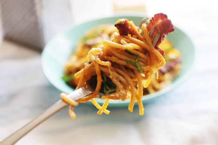Halloween Spaghetti Kürbis Rezepte Kochen Oligarto Blogzine