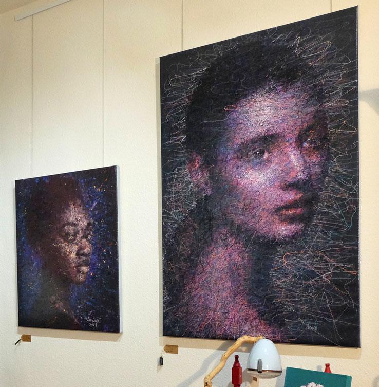 Die Formel regelt den Preis abhängig von der Größe des Bildes und dem  Künstlerfaktor