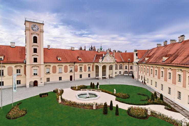 """Location der Weihnachtsausstellung 2019 """"SCHLOSS.Lamberg.ADVENT"""": Schloss Lamberg Steyr"""