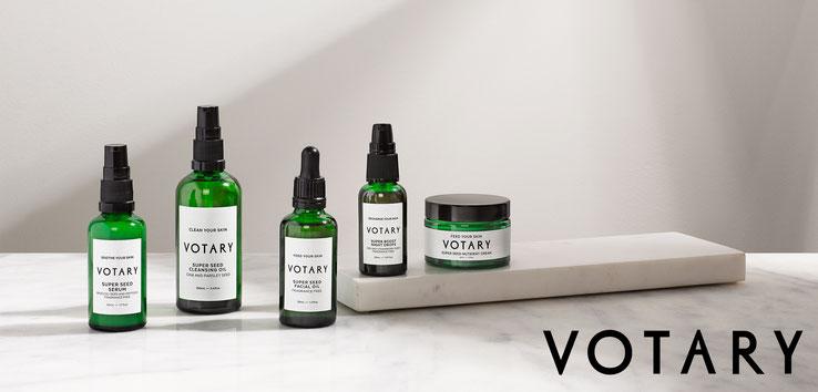Entdecken Sie die Hautpflege-Produkte von VOTARY. VOTARY hat für jeden Hauttyp und jede Lebensphase das passende Produkt - Beauty | Kosmetik | Öl Hautpflege | Gesichtspflege | Online-Shop | PRETTY PRETTY