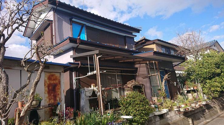 千葉市中央区の外壁塗装前