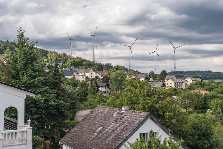 """""""Windpark-Visualisierung nur für Kemmenau"""" zeigt ausschließlich 5 Windräder, wie sie voraussichtlich für Kemmenau stehen werden"""