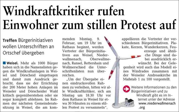 Rhein-Lahn-Zeitung vom 07.02.2015