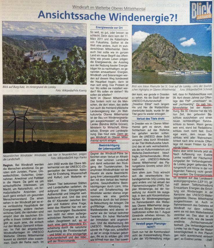Blick aktuell v. 12.08.2015