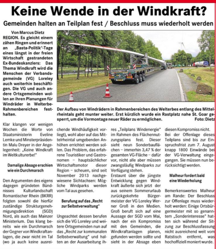 Rhein-Lahn-Post v. 03.09.2015