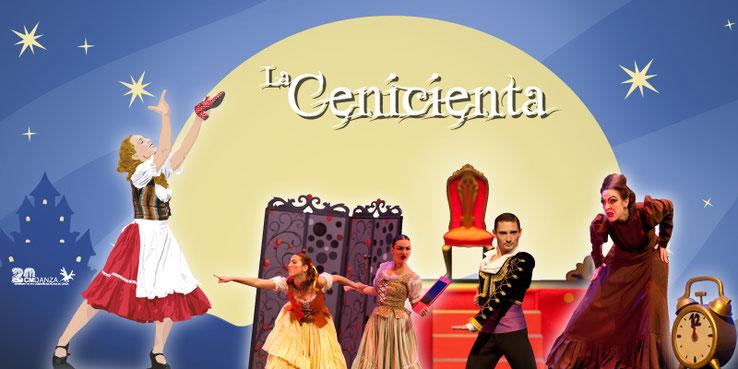 """""""La Cenicienta, un cuento de música y danza"""" de CmDanza"""