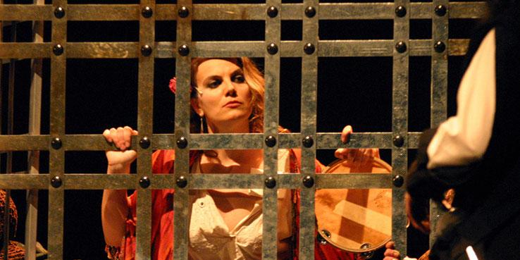 """""""La Gitanilla"""", versión teatral del homónimo de Cervantes"""