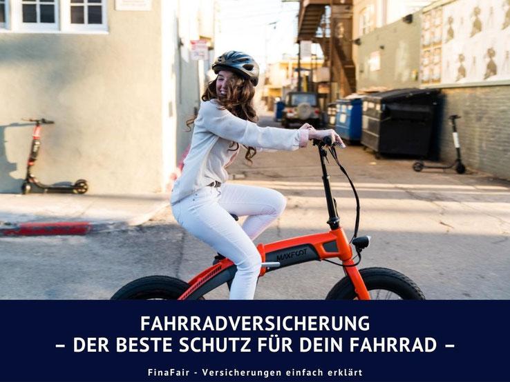 Fahrrad richtig versichern