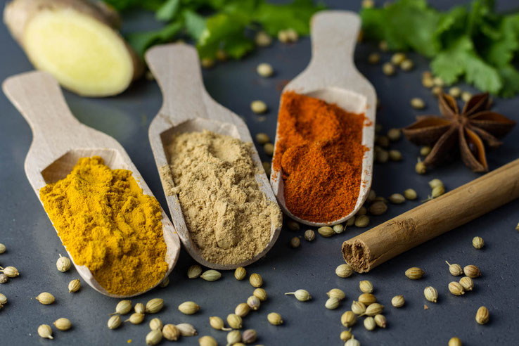 Ayurvedic herbs and spices balance your digestion