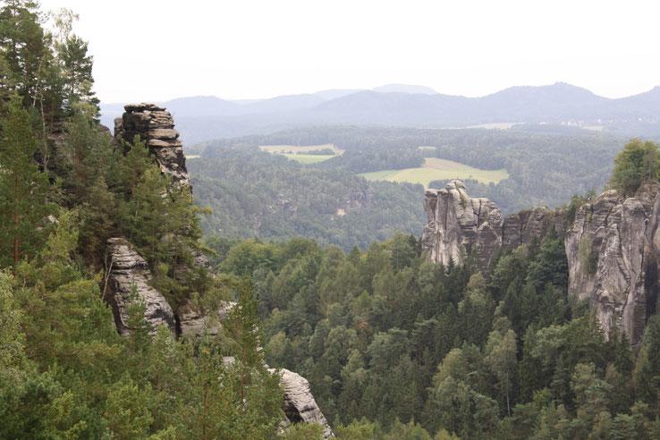 Sächsische Schweiz mit Kind