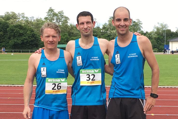 v.l.: Robert Drobny, Stefan Thum und Nico Pitzer