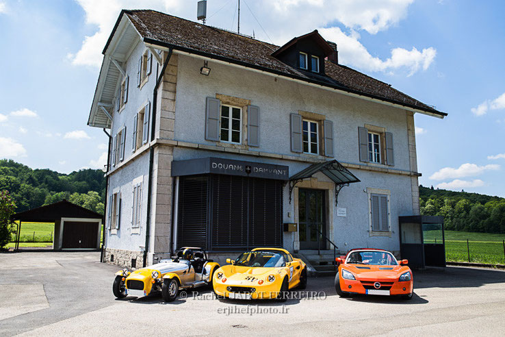 road trip, suisse, LIR, lotus, lotus élise, caterham, speedster, rachel jabot ferreiro, erjihef photo