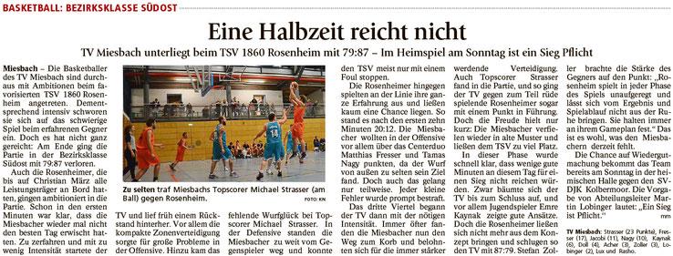Bericht im Miesbacher Merkur am 23.11.2016 - Zum Vergrößern klicken