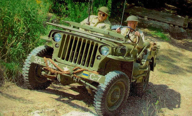 WWII Jeep with a differential repaired by CMR Rebuild