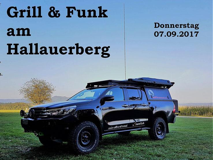 wolf78-overland.ch Grill CB Funk Schweiz Hallauer Berg Schaffhauser Nachrichten Hilux Revo
