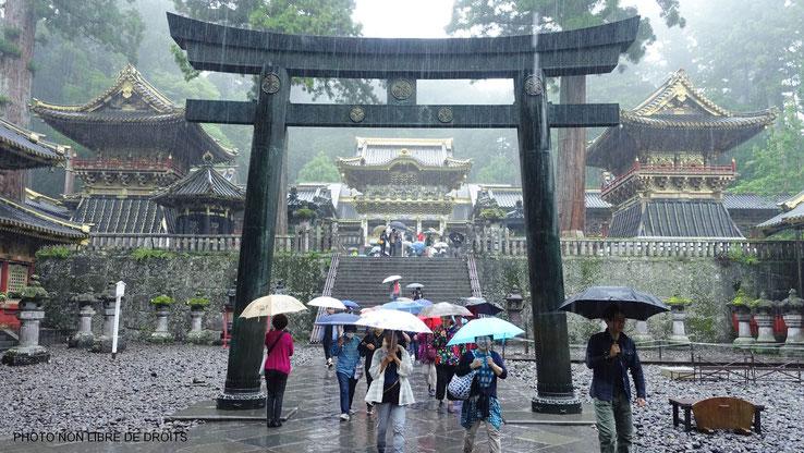Ishi Dorii sous la pluie, Nikko, Japon
