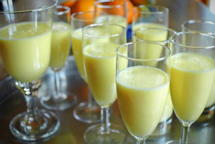 Orangen Mousse mit Agar-Agar (auch für Thermomix)