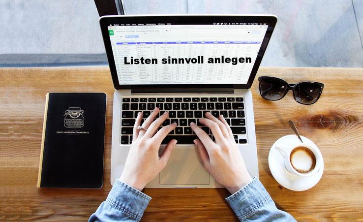 4 Tipps zum sinnvollen Anlegen von Listen und Tabellen in Excel