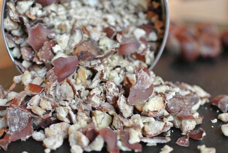 Waschpulver aus Kastanien bevorraten und haltbar machen