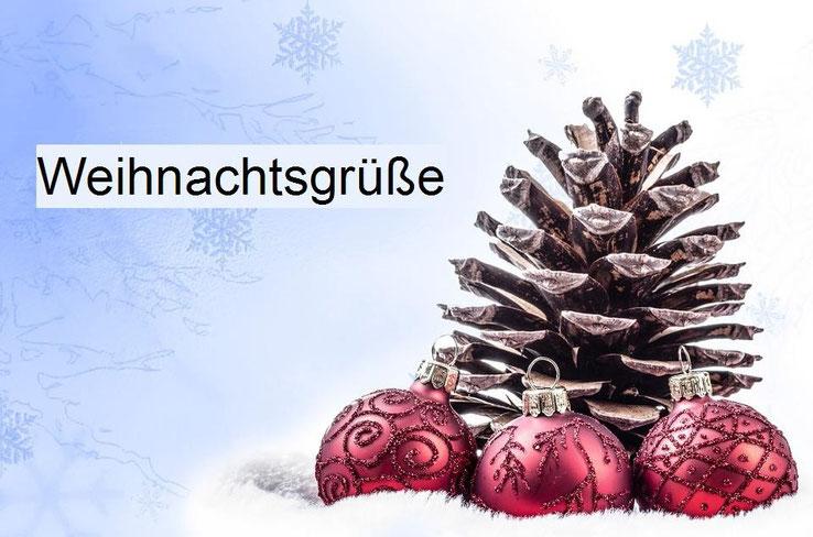 Weihnachtsgrüße und Neujahrsgrüße - Mustertexte und Tipps