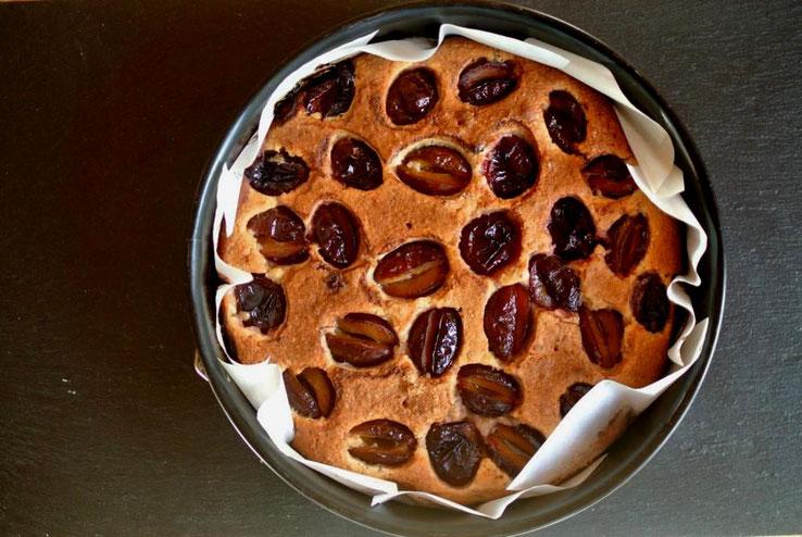 Eiweiß-Rezept Eiweißkuchen mit Obst