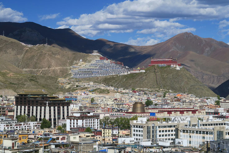 Yushu et son monastere