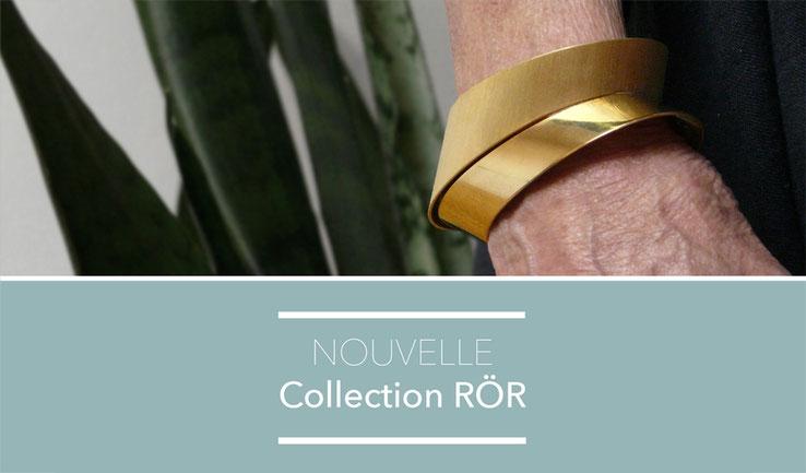 Collection RÖR, bijoux contemporains, Nelly CHEMIN