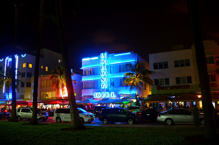 Miami Beach Ocean Drive Florida USA