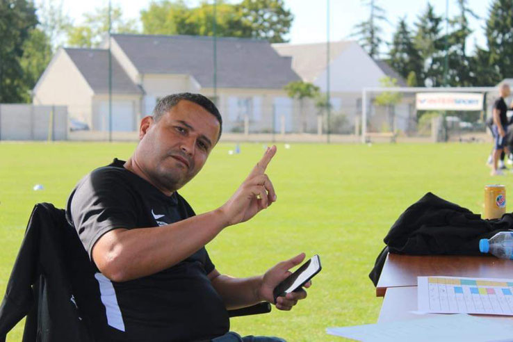 CS Mainvilliers Football Samir Kasmi