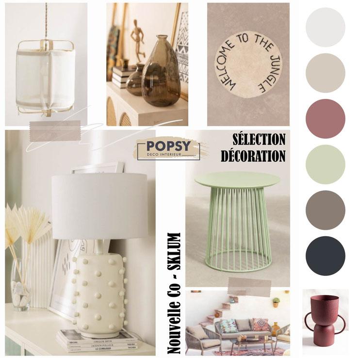 sélection décoration meuble ameublement art de la table bureau coussin sklum avis printemps été 2021 nouvelle collection popsydeco popsy