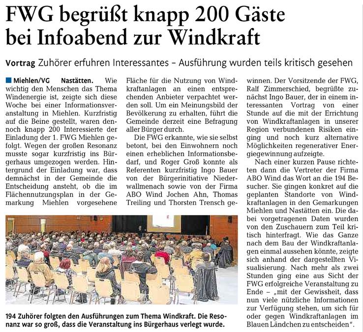 Rhein-Lahn-Zeitung v. 13.03.2015