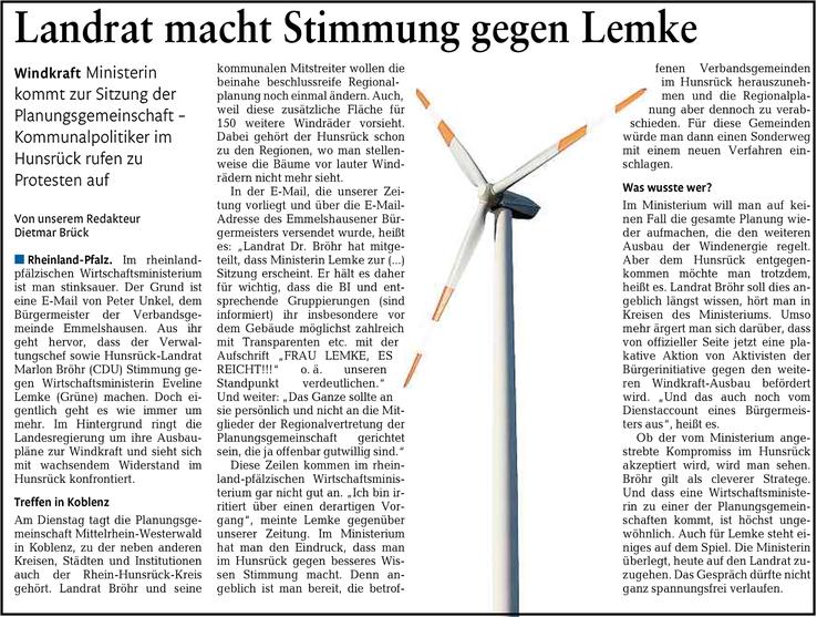 Rhein-Lahn-Zeitung v. 20.07.2015