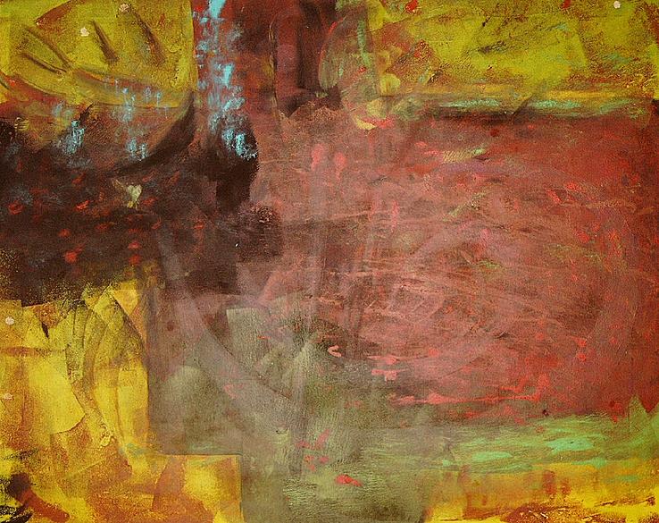 E(xen)1, Artigkeit, Claudia Karrasch, Bonn, Mixed Media, Leinwand, 130 x 110 cm