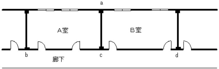 隣接する同時放射区域間の設備を共用する場合 パッケージ型自動消火設備