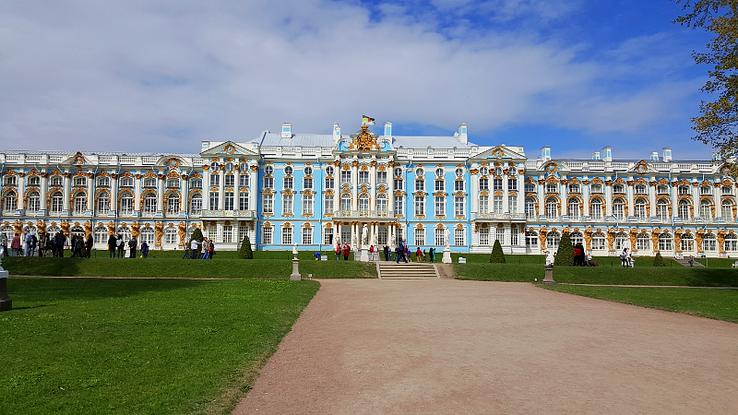 Der Katharinen-Palast in Puschkin