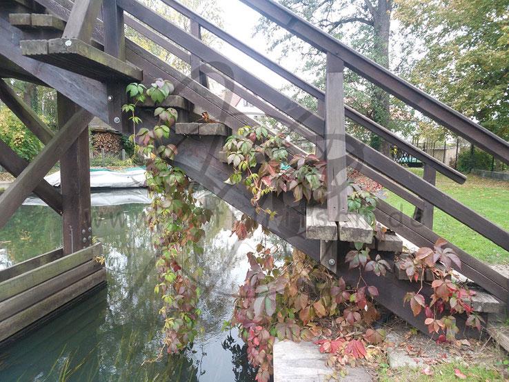 Geschmückte Brücke