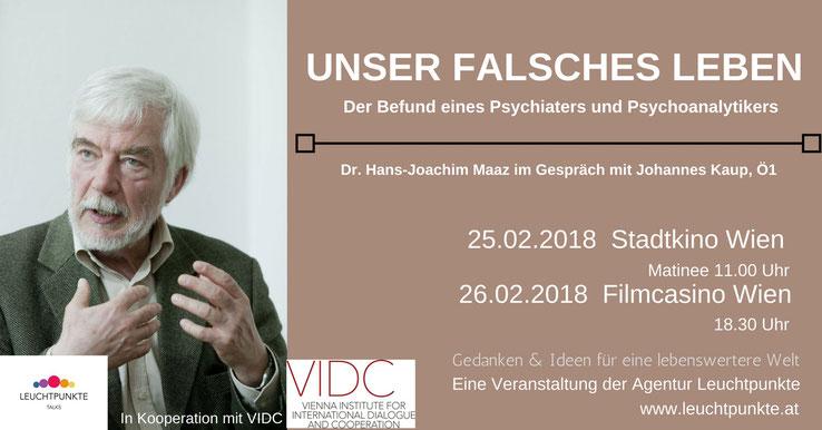 Leuchtpunkte Talks: Dr. Hans-Joachim Maaz im Gespräch mit Johannes Kaup, Ö1