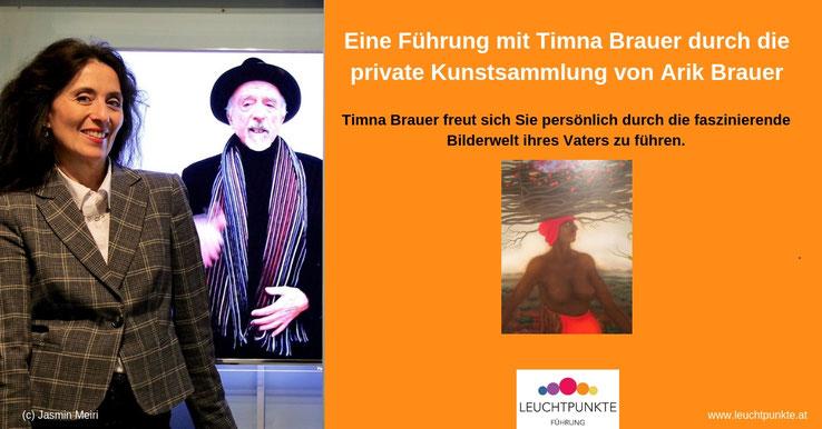 Leuchtpunkte Vortrag: Eine Führung mit Timna Brauer durch die Privatsammlung von Arik Brauer