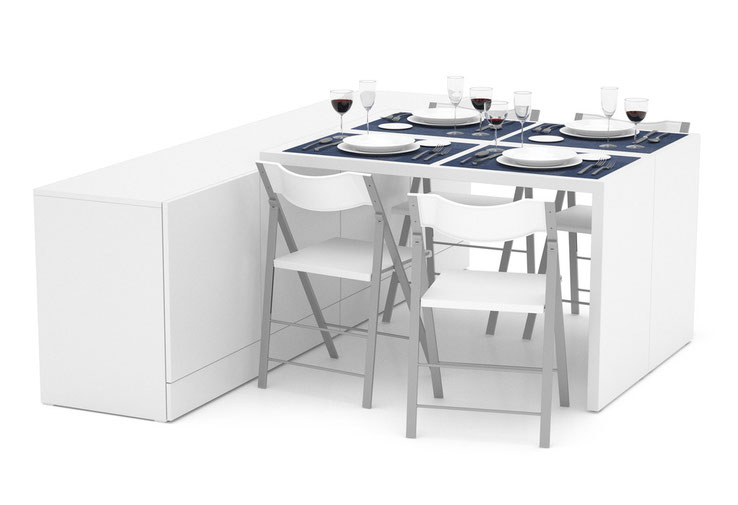 Sideboard Premium Weiss