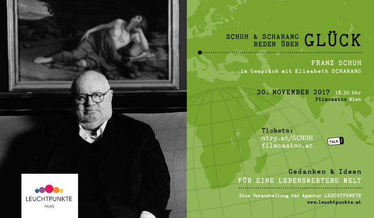 Leuchtpunkte Talks: Franz Schuh und Elisabeth Scharang